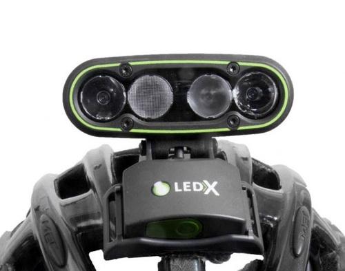 Hjälmfäste LedX