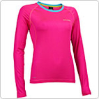 Salming Balance Long Sleeve Tee (Pink Glo)