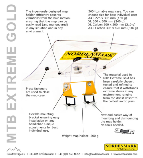Nordenmarks MTB Extreme Gold